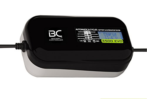 BC 3500 EVO MULTILINGUA - Caricabatteria/Mantenitore Auto/Moto + Tester batteria e alternatore