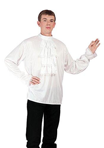 P'TIT CLOWN - 12133 - Chemise blanche à jabot - Taille Unique