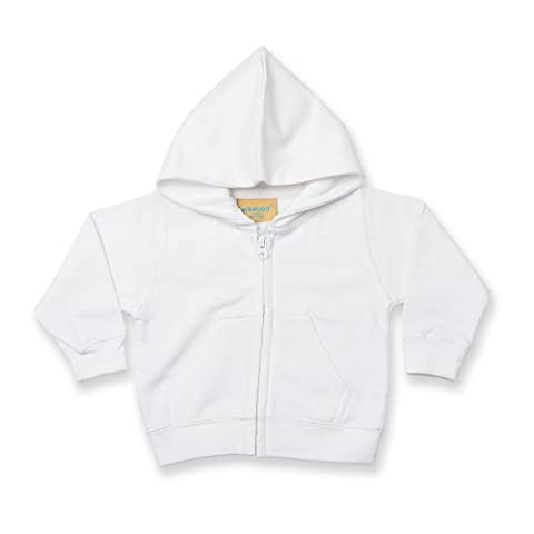 Larkwood Baby/Kids Zip Through Hooded Sweatshirt / Hoodie (3-4)
