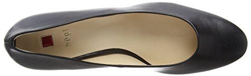 Högl  0- 12 450, Chaussures à talons - Avant du pieds couvert femmes Noir - Schwarz (0100)