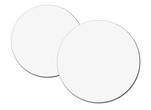 Cuisineonly - Rond uni carton blanc tout bois- 250 unités diamètre 18cm. Cuisine : Usage unique (Cartonnages)