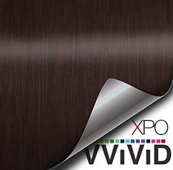 VViViD Holzmaserung Faux Finish Strukturierte Vinyl-Folie Dekorative Rolle XPO 1ft x 48