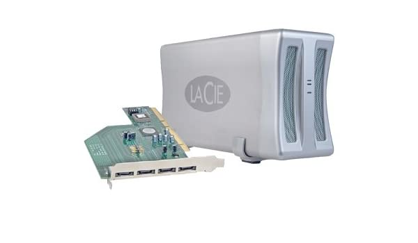 LaCie SATA II 3Gb/s PCI-X Card4E Drivers for Windows Download