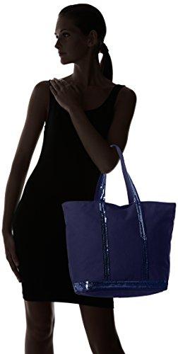 Vanessa Bruno 0Pve01-V40409, Borsa tote donna taglia unica Blu (Bleu (890 Indigo))