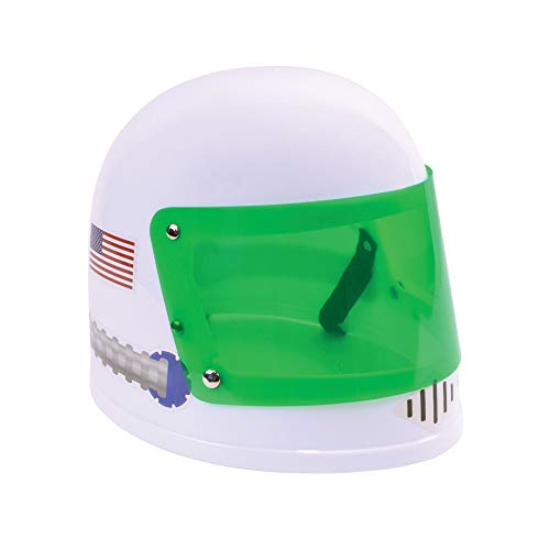 Bristol Novelty BH711 Astronauten-Helm für Kinder, Jungen, Mädchen, Weiß