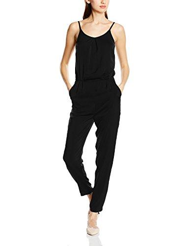 ICHI BIZANA JS - Combinaisons - Slim - Femme Noir - Schwarz (Black 10001)