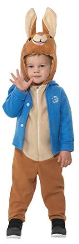 Fancy Me Offizielles Peter Hase Tierkostüm für Jungen und Mädchen, 1-6 - Peter Hase Kostüm Kind