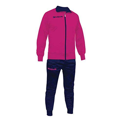 Marchio Givova - Tuta Torino - completo di giacca con zip manica lunga e pantalone/Home Shop Italia...