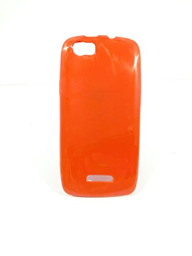 iCandy™ Colorfull Thin Soft TPU Back Cover For Xolo Q700S - Red  available at amazon for Rs.109