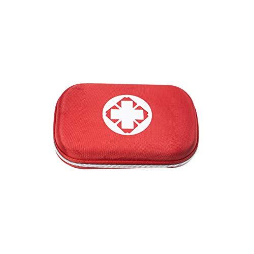 Naisidier Erste-Hilfe-Set für Pendler, kompakte Hartschale, Canvas, Tragbare Tragetasche, ideal für Notfälle, Camping, Wandern, oder zu Hause, 1 Set (zufällige Farbe), Autozubehör
