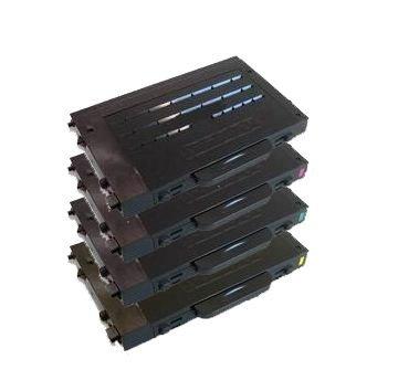 Preisvergleich Produktbild 4er SET Eurotone Premium Toner für Samsung CLP-500 CLP-510 CLP-515 CLP-550 Serie - CLP 500 500A 500G 500N 500NA 500R 510 510N 515 550 550G 550N - Black Schwarz + Cyan + Magenta + Yellow Gelb