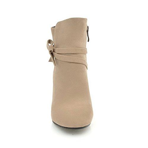 BalaMasa  Abl09306, Sandales Compensées femme Beige