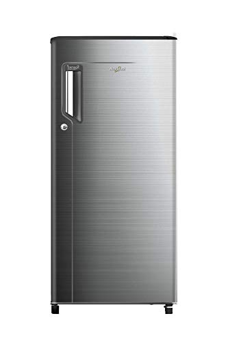 Whirlpool 185 L 3 Star Direct Cool Single Door Refrigerator(200 ICE MAGIC POWER COOL PRM 3S CHROMIUM STEEL-E)