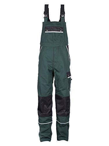 TMG® Herren Latzhose für Gartenarbeit - strapazierfähig - Grün (EU76 / W60 R)