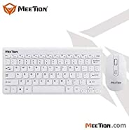 MEETION MT-Mini4000 2.4G Wireless Keyboard And Mouse Combo (WHITE)
