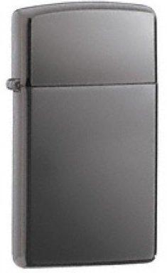 Personalised Zippo Slim Black Ice Lighter (Engraved