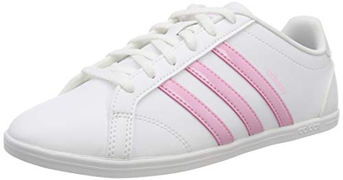Adidas Damen Coneo QT Fitnessschuhe, Weiß (Ftwr White/True Pink/Light Granite), 41 1/3 EU (7.5 UK) - Damen Pink Schuhe