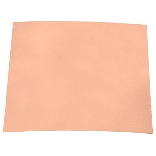 Kupfer Platte - TOOGOO(R) 2X Metallplatte Kupfer Platte 100X100X0.3mm