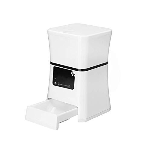 Dufeng Cat Feeder-Fernbedienung HD-Kamera Überwachung Intelligente Wäge- Closing überschüssige Nahrung Erinnerung Anti-Karte Lebensmittel Stimme Einfache Infrarot-Sensor entfernen -