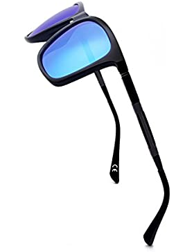 BLEVET Gafas de Sol Polarizadas para Hombres Mujeres para Conducir Deportes Protección UV BE002