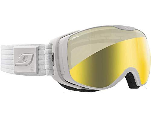 Julbo Masque de Ski pour Femme Blanc Luna Blanc - Zebra Light 20baf47f66f4