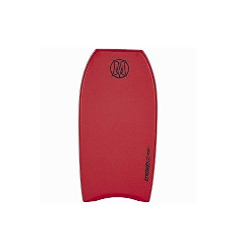 Morey - Bodyboard, Negro/Rojo, 42