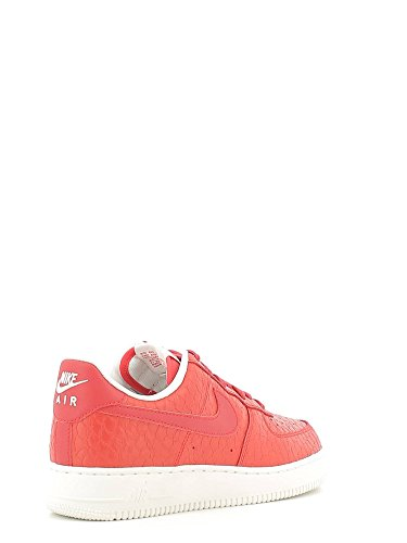 Nike Air Force 1 '07 Lv8, Sneakers basses homme Rojo (action red/action red-summit white)