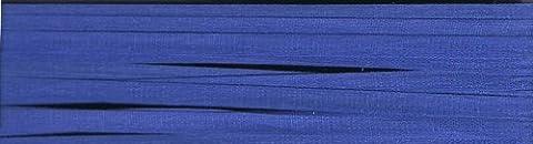 YLI Ruban en soie 4 mm x 3 M Bleu de Cobalt Motif 045