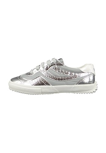 Superga 2832 Metcrow Grey Silver grau