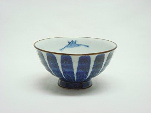 Tateyama-Do Hasami Vaisselle Japonaise Bol à Riz Grand '' Sansui '' fabriqué au Japon DSCO1128