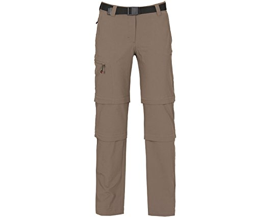 Bergson Damen Doppel Zip-Off Hose NARRABEEN, Bungee Cord [780], 20 - Damen (Damen-cord-hose)