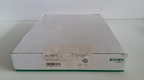 ELVOX 89F3/0-Blechschild Audio 2m 0Knöpfe grau Licht