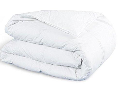 Amazinggirl 140x200 cm Winterdecke Extra Warm Bettdecke allergiker Steppdecke Weiß Hypoallergen aus Microfaser Steppbett perfekt für Kinder Baby