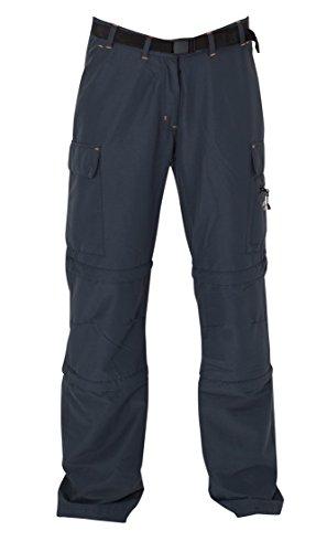 DEPROC-Active Damen Trekking und Wander Hose KENORA Double Zip-Off, Anthracite, 46, 54844- Preisvergleich