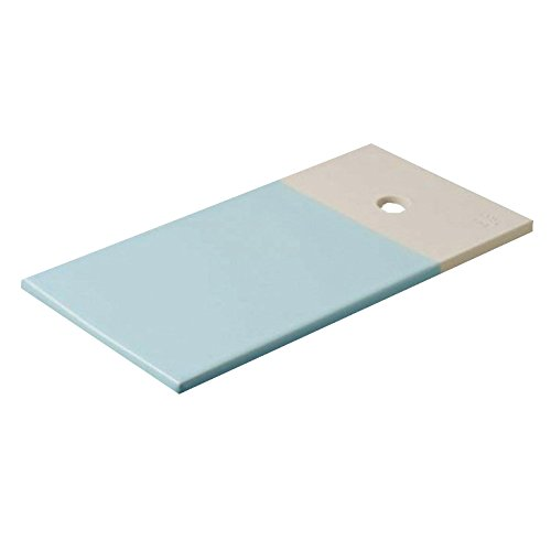 REVOL RV648899 Planche gourmande Color Lab, Porcelaine, Bleu, 24,5 x 13 x 0,8 cm