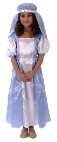Mary Mädchen Krippe Weihnachten Kostüme Kostüme Alter (Play Mary Nativity Costume)