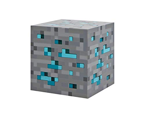 Echte Kostüm Videospiel - Minecraft Light-Up Diamond Ore