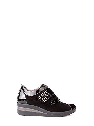 Melluso R0861 Sneakers Donna Vernice Nero Nero 37œ