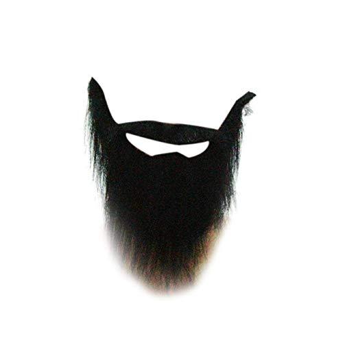 Schnurrbart Kostüm Und Schwarze Bart - dfhdrtj Personality Kostüm Requisiten Fake Schnurrbart Bart schwarz bart Männer lustig für Camping, Picknick und andere Outdoor-Aktivitäten - Farben
