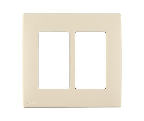 leviton-renu-rewp2-gc-two-gang-screwless-snap-on-wallplate-gold-coast-white-by-leviton