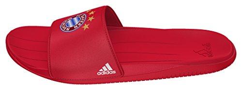 adidas Kinder und Jugendliche Fcb Slide Zehentrenner, Rot (Rojfcb/Ftwbla/Rojfcb), 35 EU