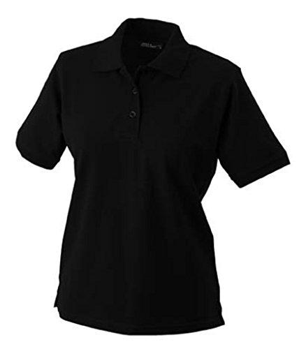JAMES & NICHOLSON Strapazierfähiges klassisches Poloshirt Black