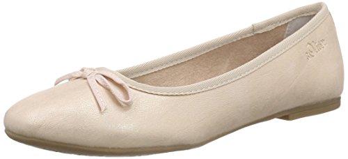 s.Oliver 22133, Damen Geschlossene Ballerinas, Pink (ROSE 544), 39 EU (6 Damen UK)