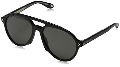 Givenchy Herren GV 7076/S M9 807 Sonnenbrille, Schwarz (Black/Grey), 56