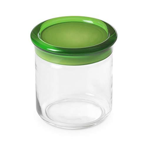 Pot en plastique de 0,75 litre de 12,5 cm de hauteur,Vert,ligne Trendy d'Omadadesign