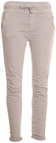 Basic.de Cotton Stretch-Hose im Jogging-Pant Style Hellgrau M