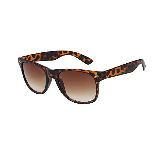 ASVP Shop Hochwertige Sonnenbrille Retro Vintage Unisex Brille für Männer und Frauen Schildkröte (WF30)