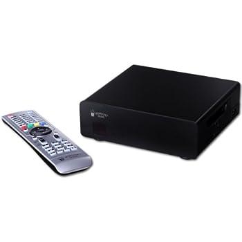Popcorn Hour A-400 Multimedia-Player (SMP8911, Dual-Core, 800MHz, 1x SATA, 3D, HDMI, SD-Kartenslot, USB 3.0)