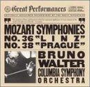 Mozart:Syms 36 & 38