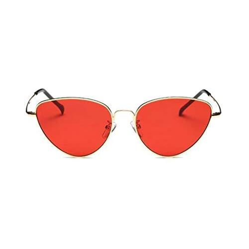 YIWU Europa und Amerika Street Beat Sonnenbrillen Female Net rot Versiegeltes Segel Triangle Cat Brillen Großhandel Retro Harajuku Stil Sonnenbrillen Männer und Frauen (Color : 4)